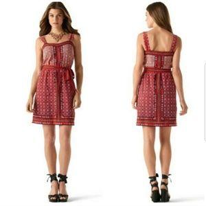 White House Black Market Red Dress Size S